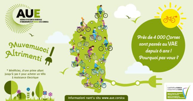 Aide à l'achat des Vélos à Assistance Electrique