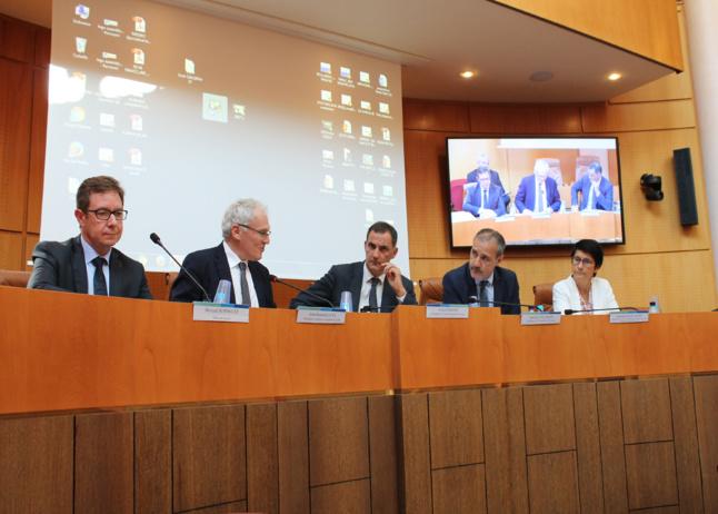 Le Conseil de l'Energie, de l'Air et du Climat en présence du PDG d'EDF