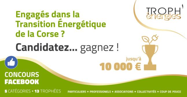 Concours TROPH'énergies 2021 - Formulaire d'inscription et Règlement