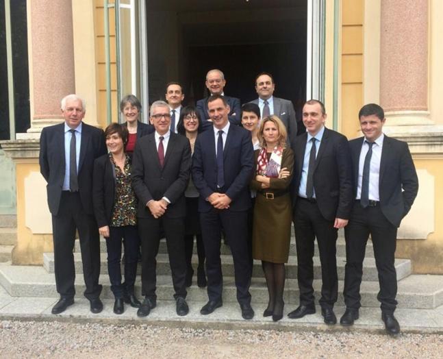 Délégation des élus sardes à l'Assemblée de Corse