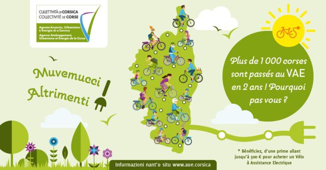 Appel à référencement des vendeurs de vélos à assistance électrique (VAE)