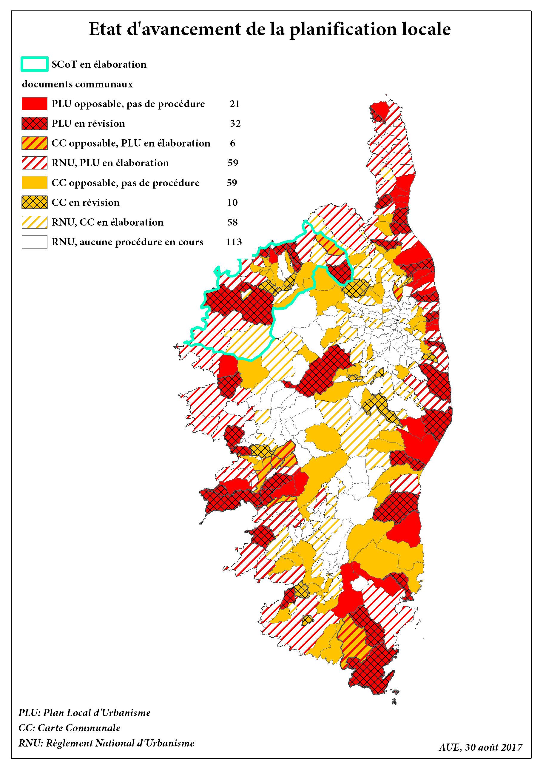Rapport annuel d'évaluation et de suivi du PADDUC - Assemblée de Corse -  juillet 2017
