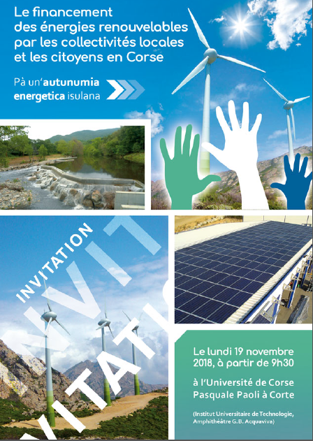 Journée d'échanges à l'Université de Corse