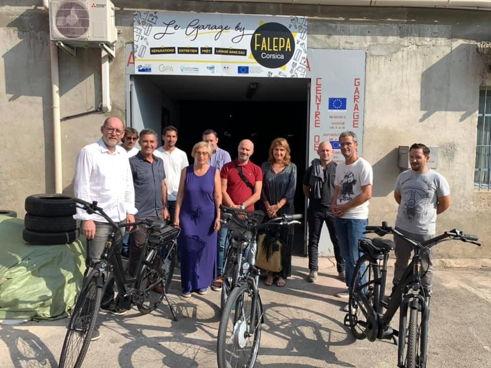 Patrice PELLEGRIN, directeur de la FALEPA; Alexis MILANO, directeur de l'AUE; Nelcy PAOLETTI, Présidente de la FALEPA