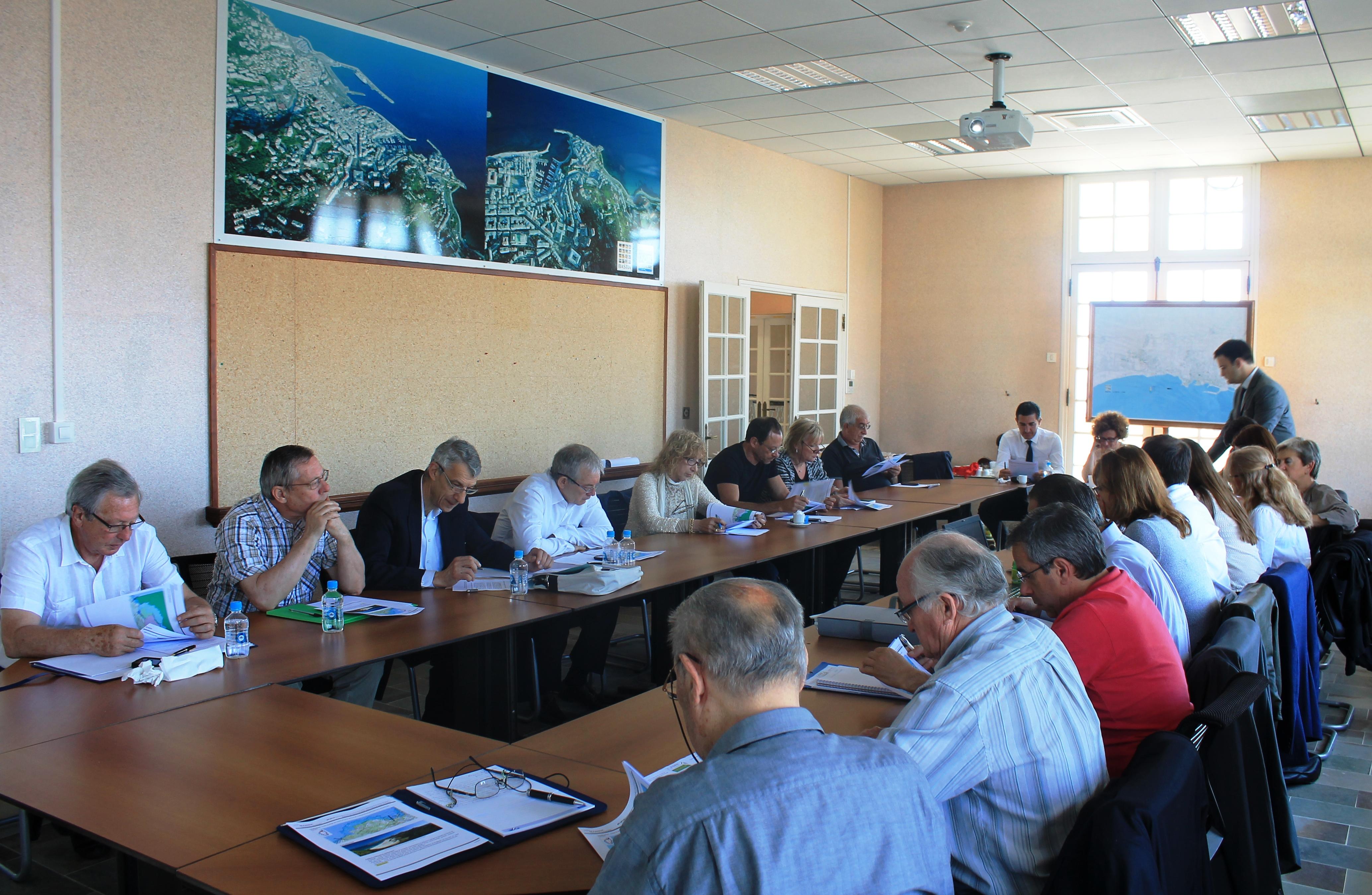 A Bastia, le 2 juin, les maires du Nebbiu, du Cap Corse et du Grand Bastia étaient réunis