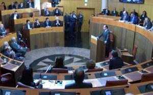 Assemblée de Corse-discours du Président de la République