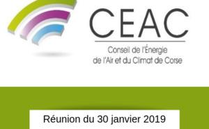 CEAC du 30/01: détail des sujets à l'ODJ