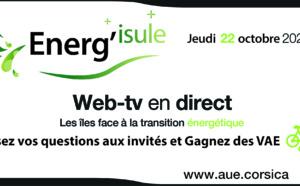 ENERG'ISULE : REVOIR LES EMISSIONS DE LA WEB - TV