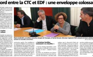 L'accord entre la CTC et EDF: une enveloppe colossale