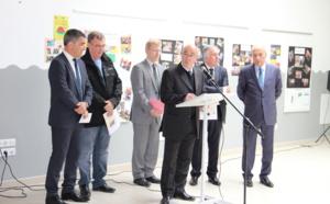 Inauguration de la chaudière biomasse de Cozzano