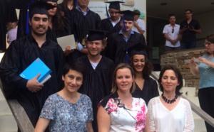 La Présidente de l'AAUC marraine de la promotion 2016 de la prestigieuse école Paoli Tech!